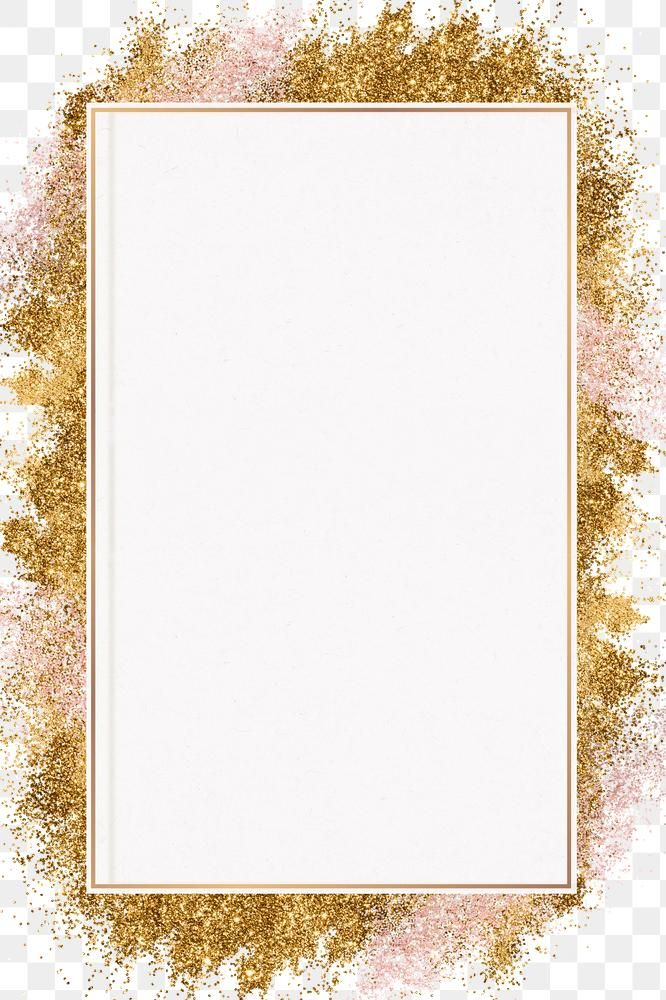 Gold Glitter Frame Png Festive Background Free Image By Rawpixel Com Nook