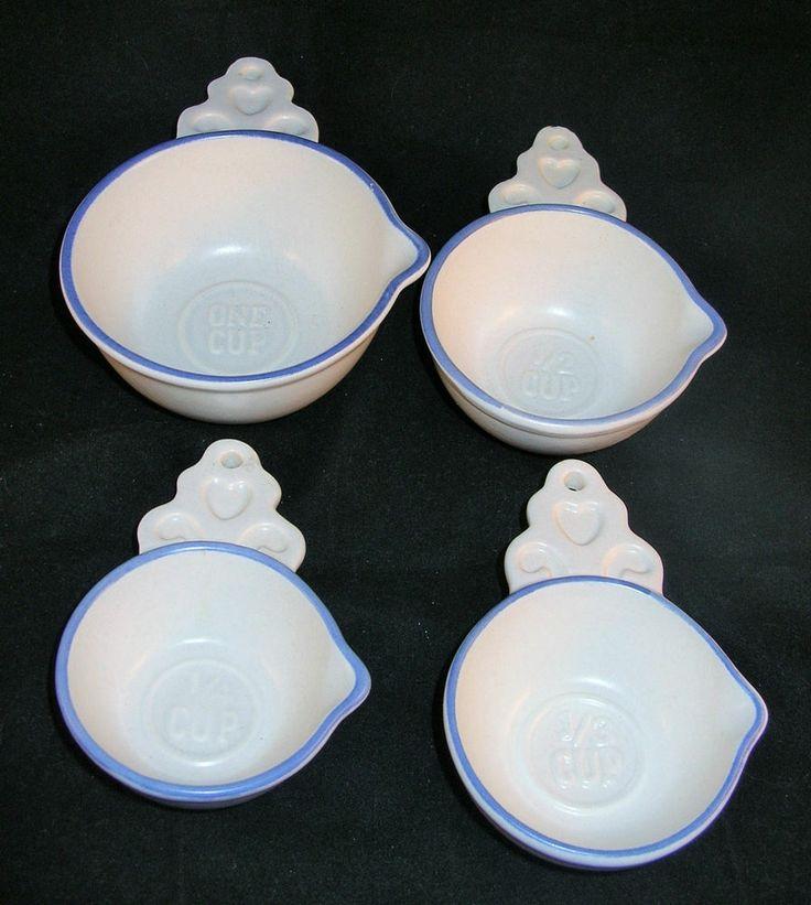 pfaltzgraff yorktowne 4 piece measuring cups set old castle mark - Pfaltzgraff Patterns
