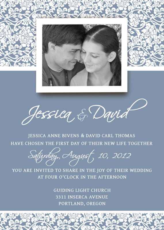 37 best Wedding invitations images on Pinterest Wedding - free invitation template downloads