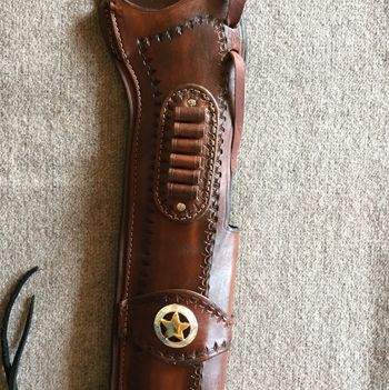 Mare's Leg Holster w/Cartridge Loops and Keeper/Concho  YOU DREAM IT - WE MAKE IT !  http://www.beavermountainworks.com/product/mares-leg-holster-wcartridge-keeper-concho/