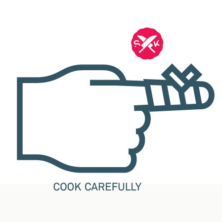 COOK CAREFULLY
