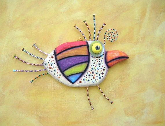 214 best Whimsical wall art ideas images on Pinterest   Fish, Fish ...