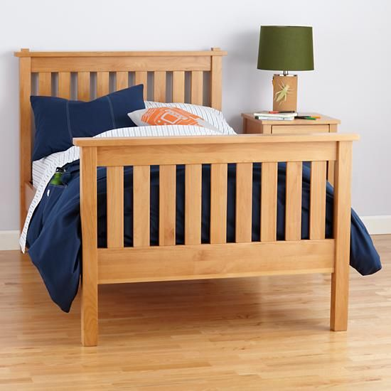 The Land Of Nod Kids Beds Kids Natural Simple Bed In