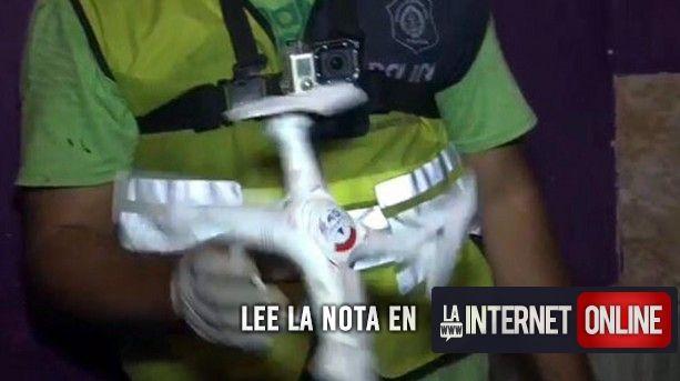 """Todo se moderniza y el negocio de los narcos parece que también.  En las últimas horas desbarataron en San Martín a la organización conocida como la banda del """"Narco Dron"""".   #delivery #drogas #drone #narcos"""