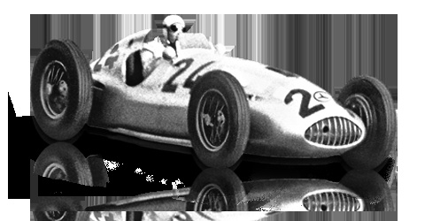 """1939: Mercedes-Benz 1,5-litre formula racing car W 165 """"Tripolis"""":  To exclude the successful Mercedes-Benz cars, the Italian organisers of the popular race in Tripoli announced that the 1939 race would be for 1.5-litre racing cars. In only eight months, Mercedes-Benz then developed an entirely new car that started in this one race only. On 7 May 1939, the W 165 posted a double victory against 28 competitors.  Displacement:V8  Maximum Output:1493 cc (91 cu in)  Top speed:272 km/h (169…"""