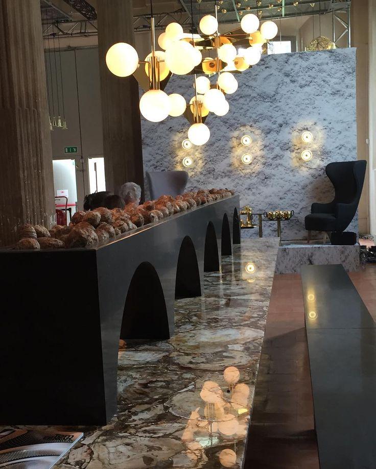 #lunch with #design #rotondadellabesana #tomdixon #salonedelmobile2016 #milandesignweek2016 #milanodesignweek #salonedelmobile