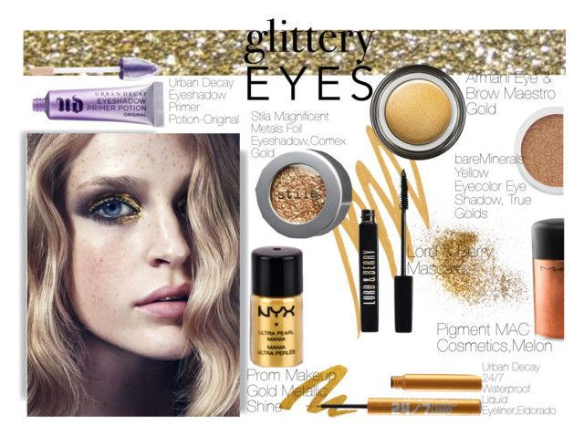 """Some girls are just born with glitter in their veins!"" by eirini-kastrou on Polyvore"