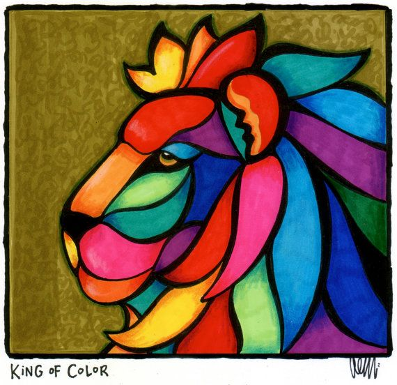 King of Color by AEMgallery on Etsy, $59.00