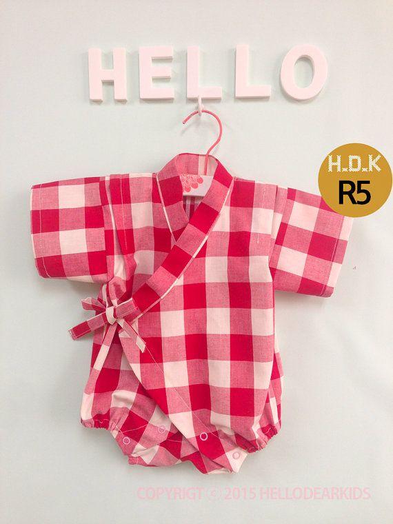 kids sewing pattern pdf Kimono suit Toddler par hellodearkids