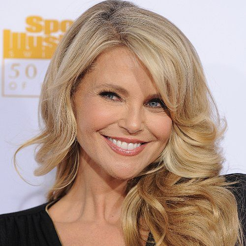 A Guide to Glowing Like Christie Brinkley at 60: sunscreen, proactive in your skincare, no fluctuating weight (pick a weight, high or low, and stay there), refrigerate a de-puffing eye gel, variety in your fitness: walk, yoga, dance, etc.
