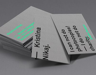 """Auf @Behance habe ich dieses Projekt gefunden: """"— personal business card""""…"""