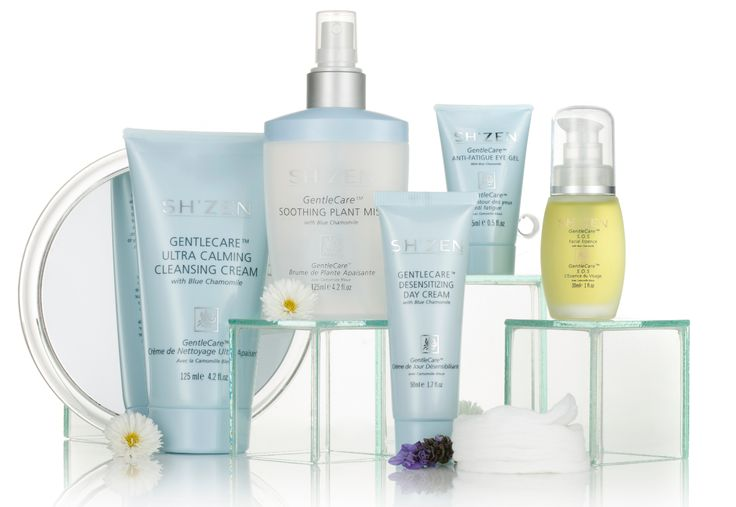 The New GentleCare™ range products complement each-other to restore your skin to optimum health and comfort.