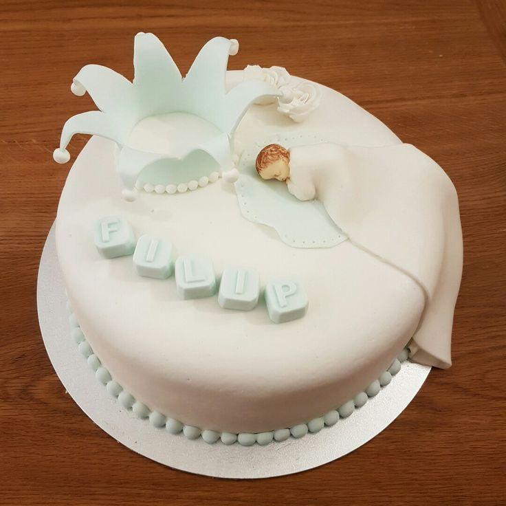Cake made for a baptism