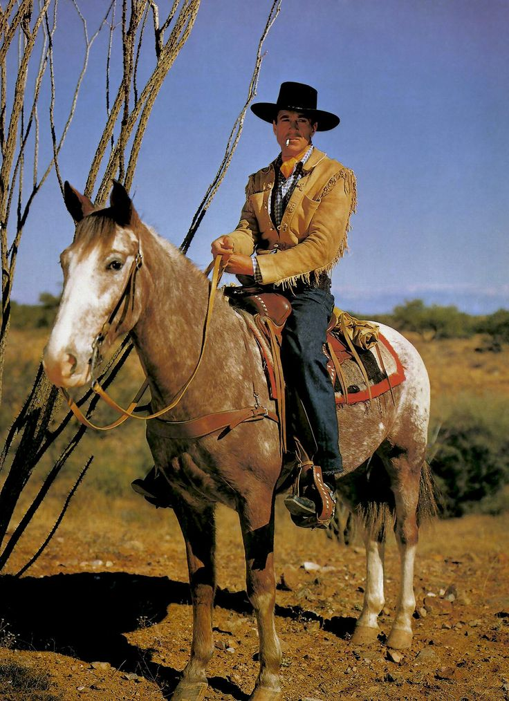 """Gary Cooper in """"The Westerner."""""""