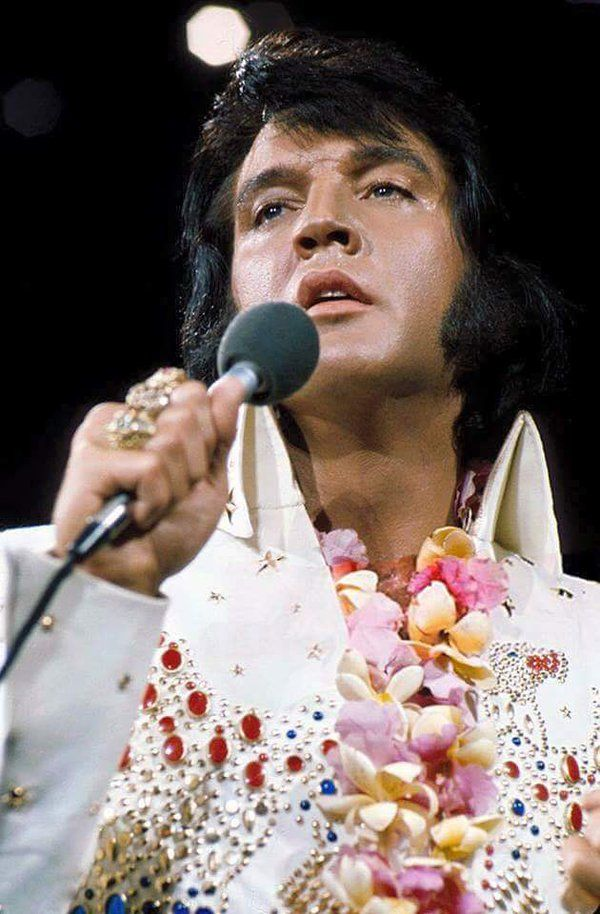 awesome photo of #Elvis from 'Aloha From Hawaii'