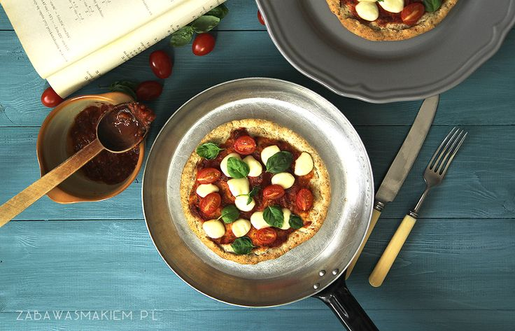pizza z otrębami