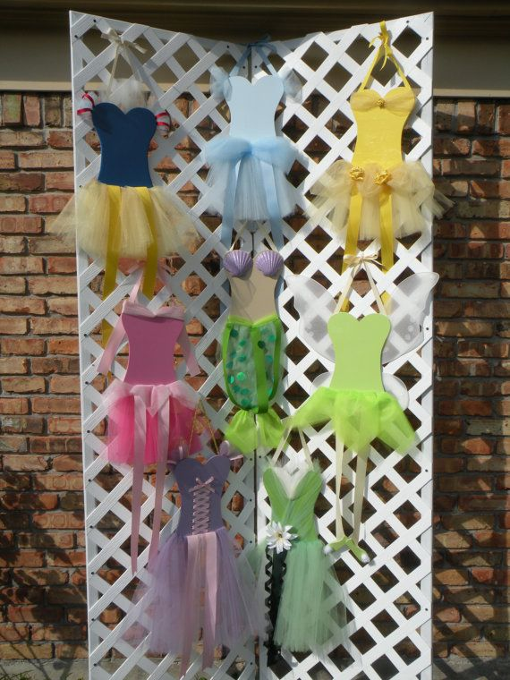 Princess Theme Hair Bow Organizer Sweetheart Snow by TulleLove, $25.00