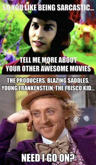 341dd6e07daf81fb1030336a4715cdf8 gene wilder movies silly meme 52 best gene wilder images on pinterest willy wonka, saddles and,Gene Wilder Dead Meme