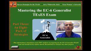 Mastering the EC-6 Generalist TExES Exam by Jerry E. Whitworth, Ed.D. from Texas Women's University http://www.twu.edu/teacher-education/jerry-whitworth.asp