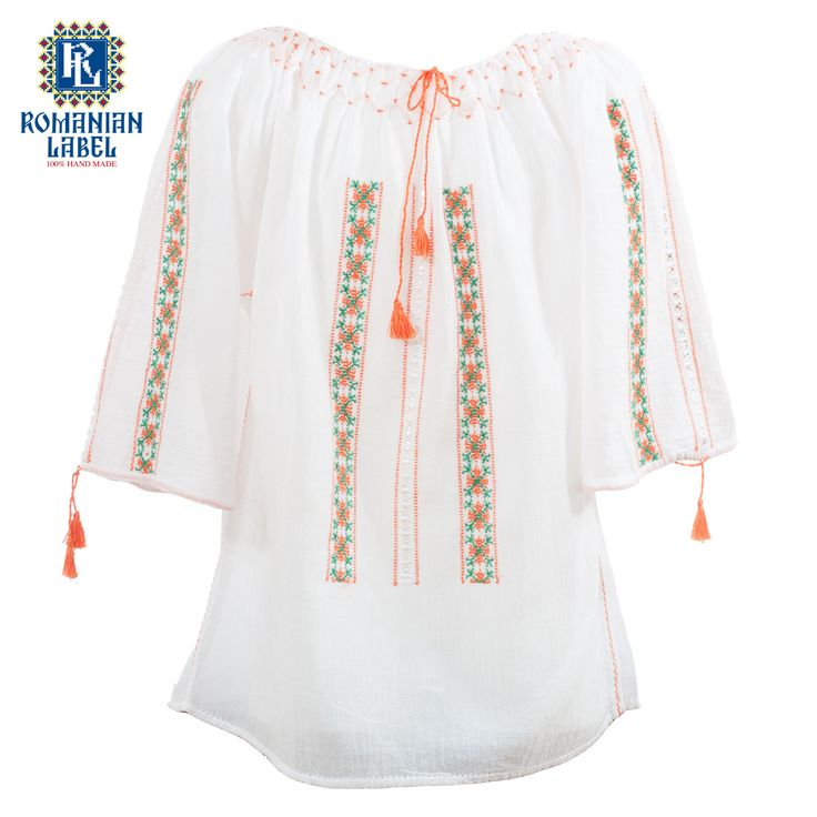 $45 Fun to wear and easy to put on, the traditional blouse will give the child enough room to move and play