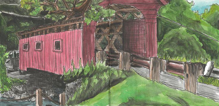 Vermont http://cargocollective.com/marianasantos http://marianasantosillustration.wordpress.com