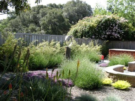modern gravel garden