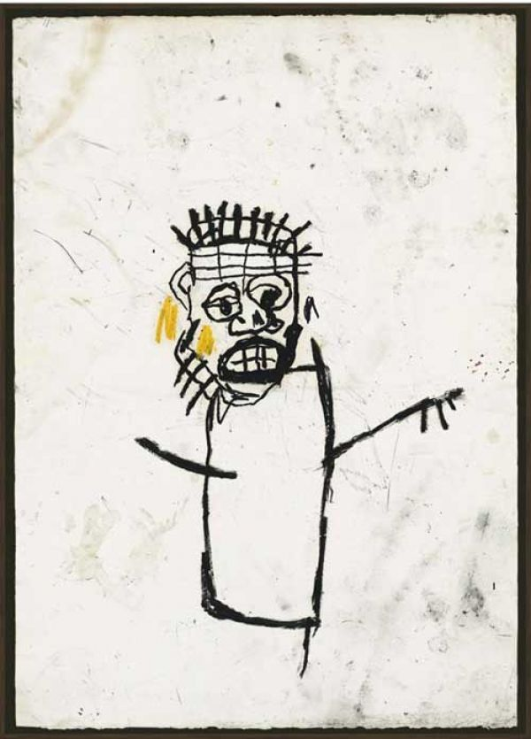 Jean Michel Basquiat Untitled (1982). Photo: courtesy of Christie's London