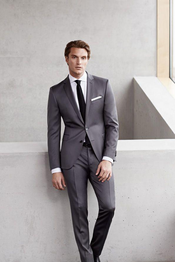 1000  ideas about Men's Grey Suits on Pinterest | Suits, Mens gray