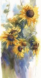 Sunflowers and Grapevines by Jennifer Bowman