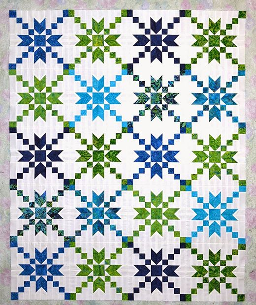 Stepping Stones Quilt Free Tutorial