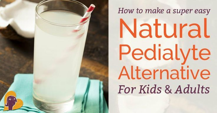 I can give you a recipe for an amazing, all-natural, better-than-Pedialyte drink to rehydrate your sick baby or child (or yourself) in just ...