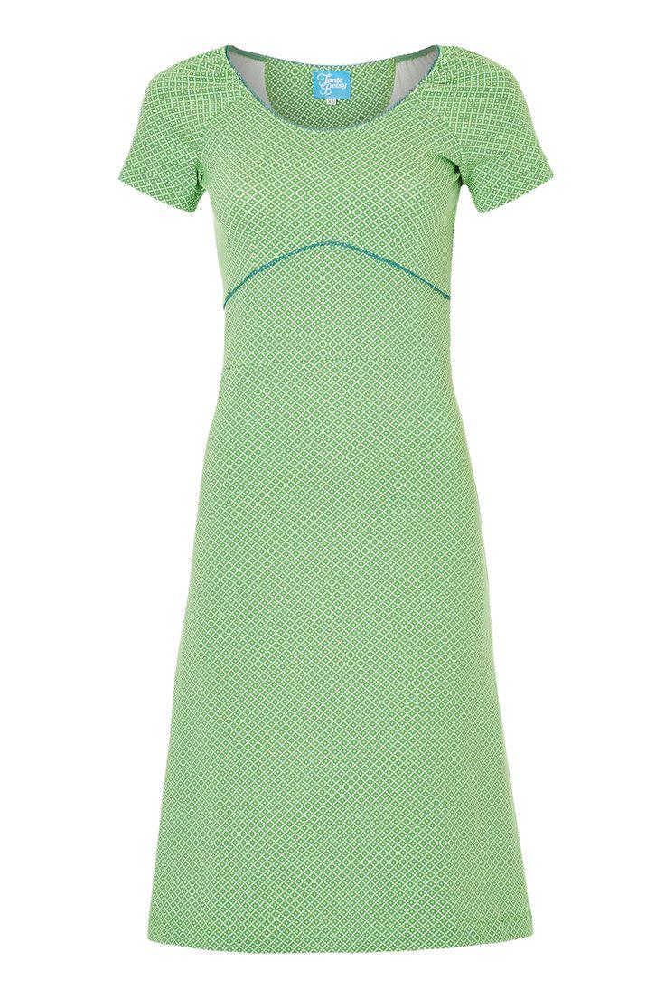 Tante Betsy dress: Summer Green