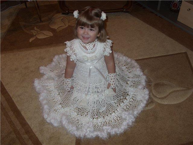 Новогодний костюм принцесы