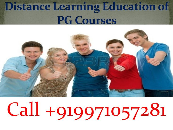 India is one of those countries in which distance education has been able to get its deserved appreciation in the past few years and the credit behind this goes to the PG distance courses.