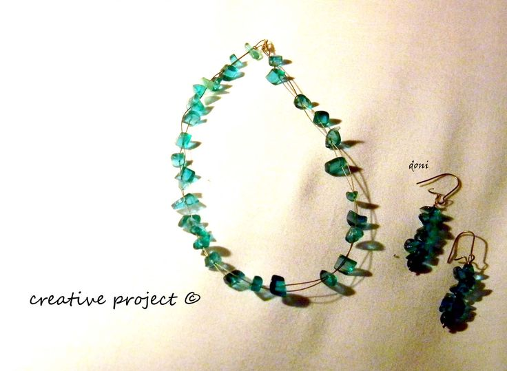 collana ghiaccio verde