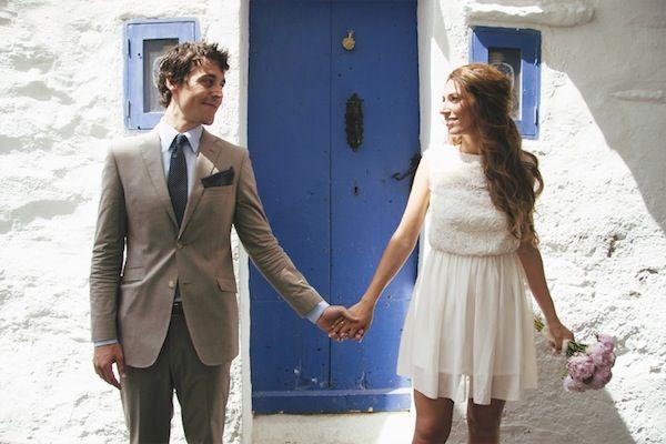 La boda civil en Cadaqués (Costa Brava) de Elodie y Jaime {Foto, Kiss me Frank} #realwedding #spain