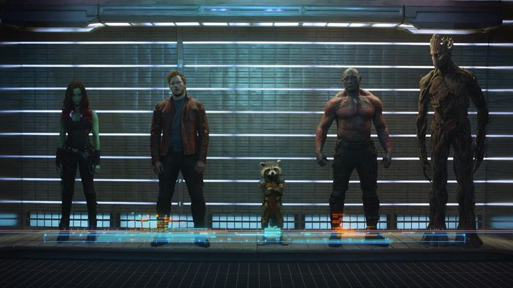 'Guardians of the Galaxy' (promo image for its movie)