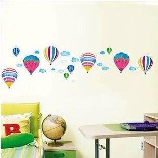 стены наклейки домашнего декора украшения дома стикер стены для малышей номера стена decalsColored шары стены стикеры Z05