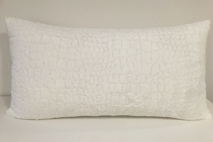 """White pillow cover/ White soft  pillow/40""""x19""""  large pillow/  fuzzy pillows/oversized lumbar pillow cover/ large accent throw pillow/soft p by Ree3design on Etsy https://www.etsy.com/listing/295296917/white-pillow-cover-white-soft"""