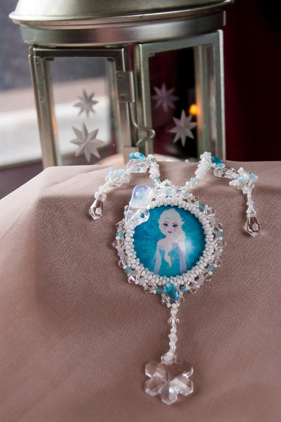 Snowflake Icy Winter Snow Queen Inspired by HumdrumAuguries