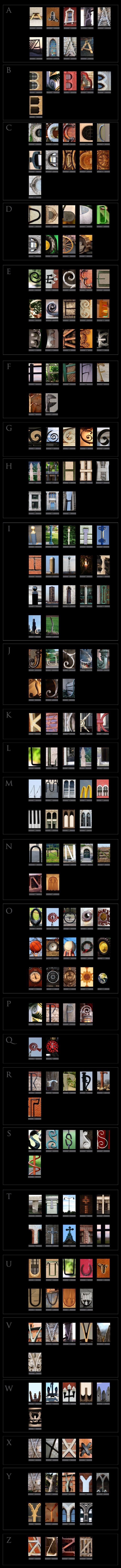 Wholesale Commercial Letter Art Wall Art Resale Retail Vendor Alphabet Photography