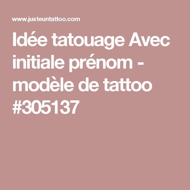 Les 25 meilleures id es concernant modele tatouage prenom sur pinterest tatouage pr nom - Idee tatouage prenom ...