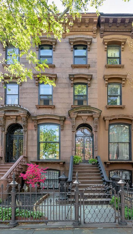 163 curated brownstones townhouses ideas by for New york city townhouse for sale
