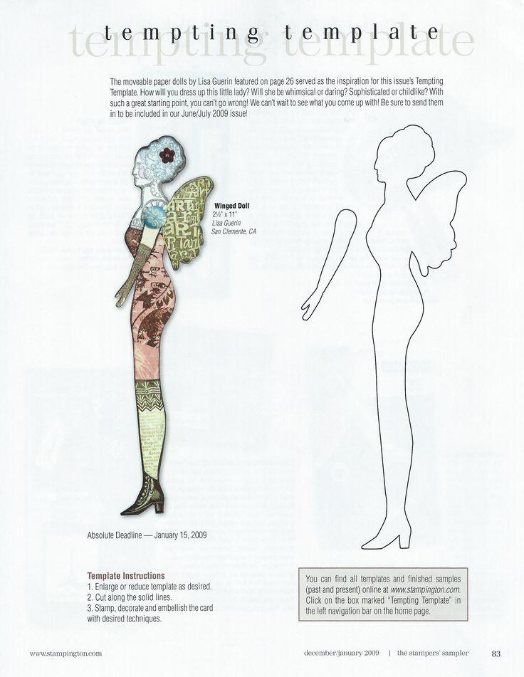 Contemporary Beispiel Paper Doll Illustration - FORTSETZUNG ...