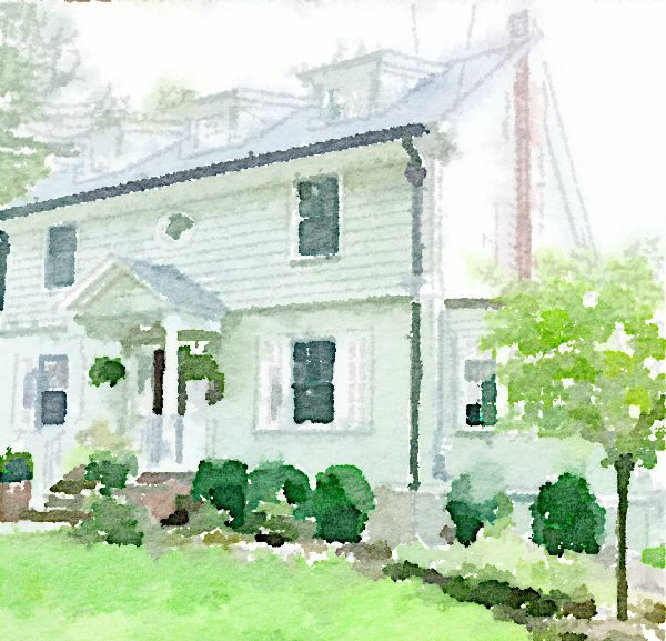 Waterlogue - how to turn any photo into a beautiful watercolor eclecticallyvintage.com