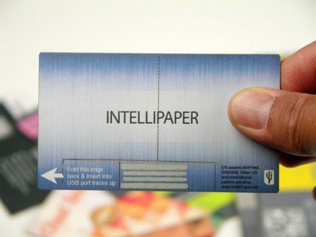 Cartão de visita inteligente