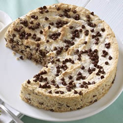 March 13- Coconut Torte Day | Ghirardelli Coconut Almond Torte with Chocolate Chips