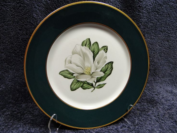 Arcadian Fine China Windsor Dinner Plate 10 1/4  Prestige Magnolia Green Band & 55 best Replacement Dinnerware images on Pinterest | China china ...
