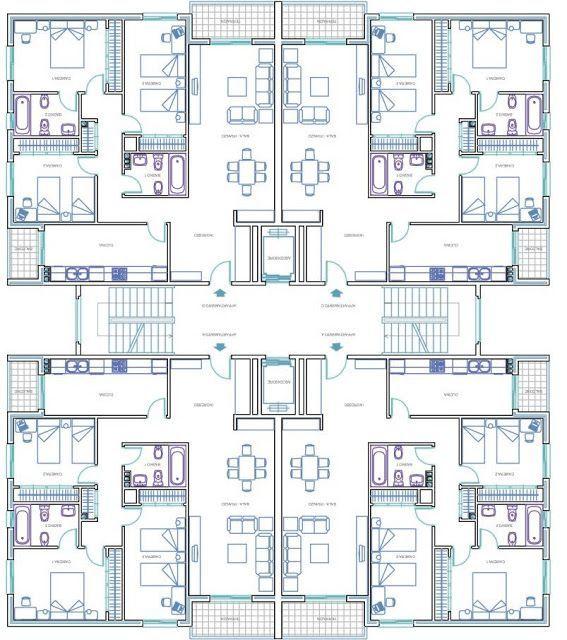 Plan Archi Tour Residentielle 001 Apartmentfloorplans Plan Archi Tour Resi Architectural Floor Plans Residential Building Plan Residential Architecture Plan