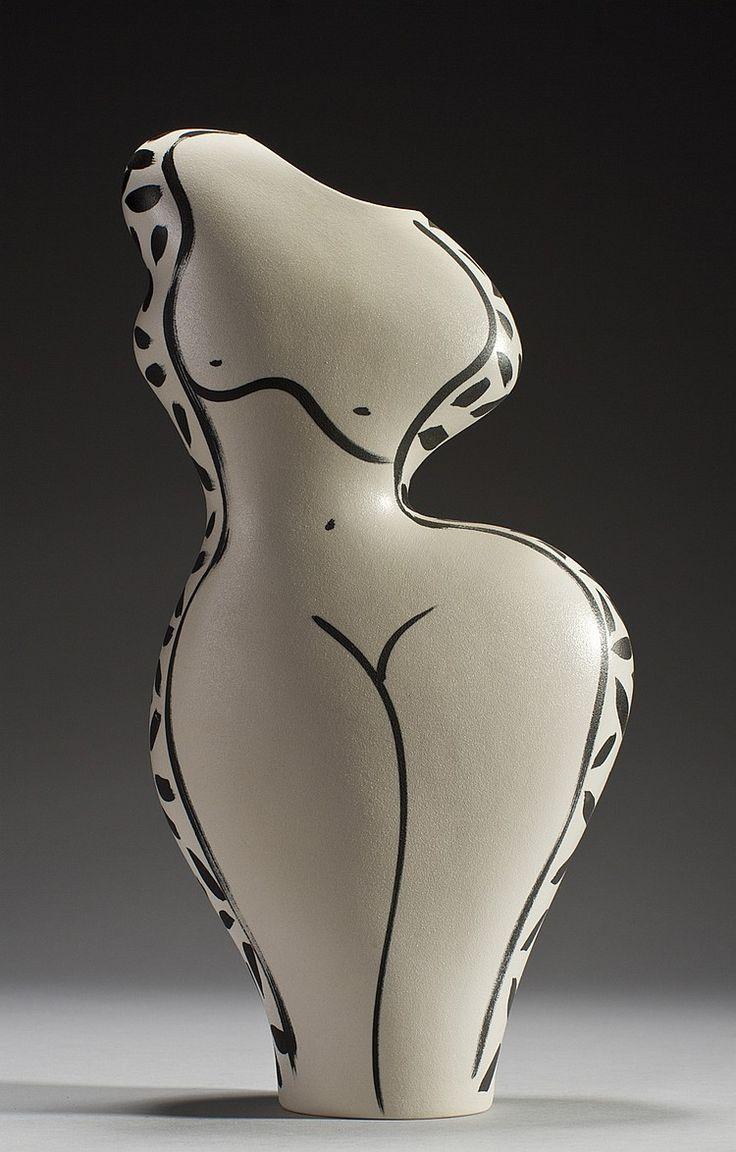best sculptures small images on pinterest  art sculptures  - donna polseno ceramic studio art pottery vase